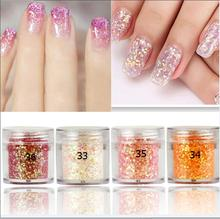 4/1 Box 10ml holo Champagne Series Nail Glitter Dust,Shiny Sequins Powder,3D Art Pigment DIY Craft Dust For Manicure