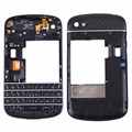3 in 1 for BlackBerry Q10 (Keyboard + Middle Frame Bezel + Back Plate Housing Camera Lens Panel) Full Assembly Housing Cover
