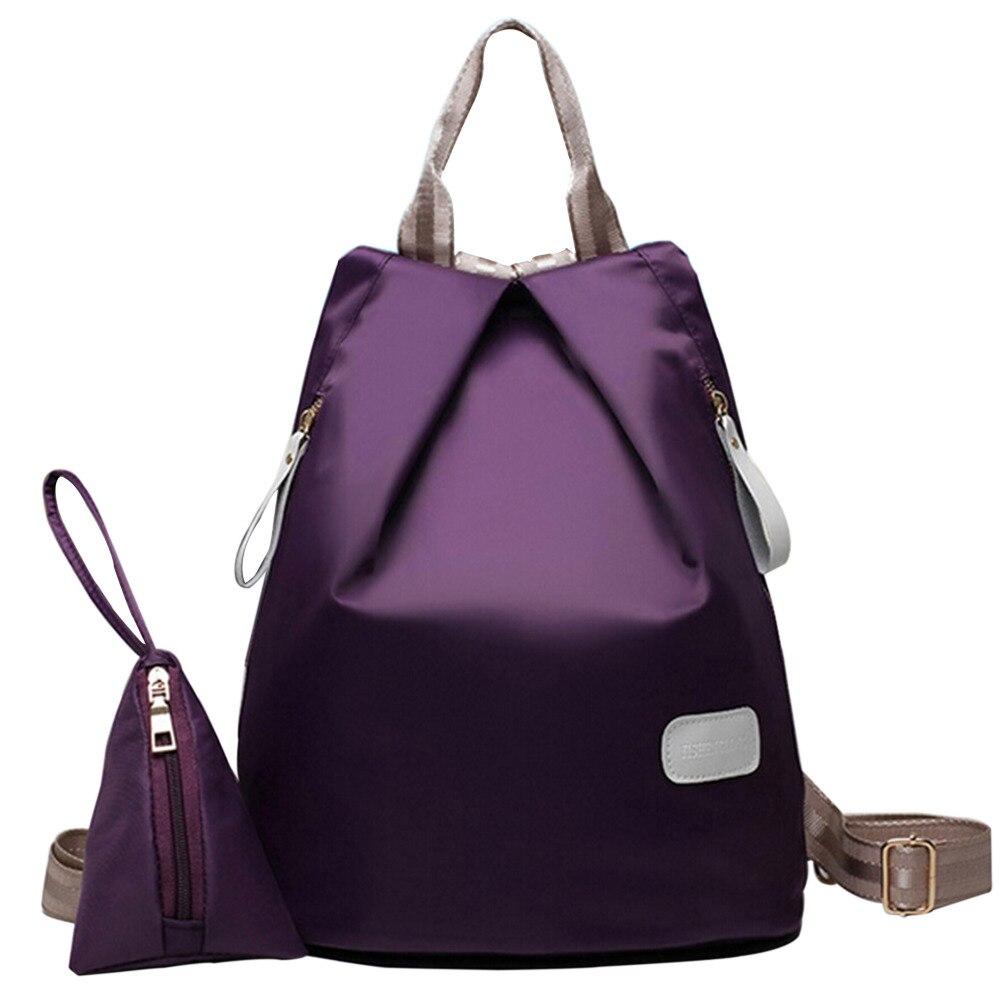 School bag herschel - Aliexpress Com Buy 2016 New Preppy Style Waterproof Oxford Herschel Backpack Women Fashion Travel Kanken Backpacks School Bags Two Piece From Reliable Bag