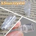 9.5mm profession import  Permanent Makeup Machine Plastic Disposable crystal head