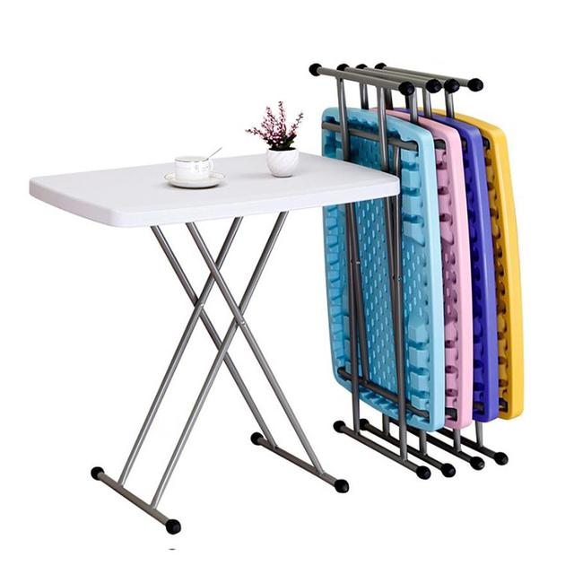 Height Adjustable Inches Folding Personal Tables White Plastic Wonderful