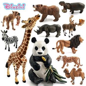 simulation forest animals model…