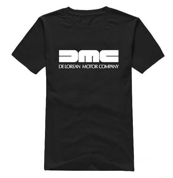 Free Shipping Summer fashion DMC DeLorean men   t  -  Shirt   Back To The Future Film Gildan   t     shirt   cotton men short sleeve tee   shirts