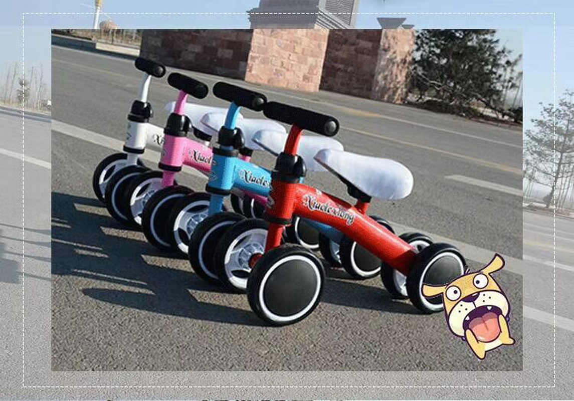 Anak-anak Tiga Roda Keseimbangan Sepeda Anak-anak Skuter Baby Walker 2-5Years Sepeda Roda Tiga Naik Hadiah Mainan untuk Mainan Bayi Tinggi kualitas