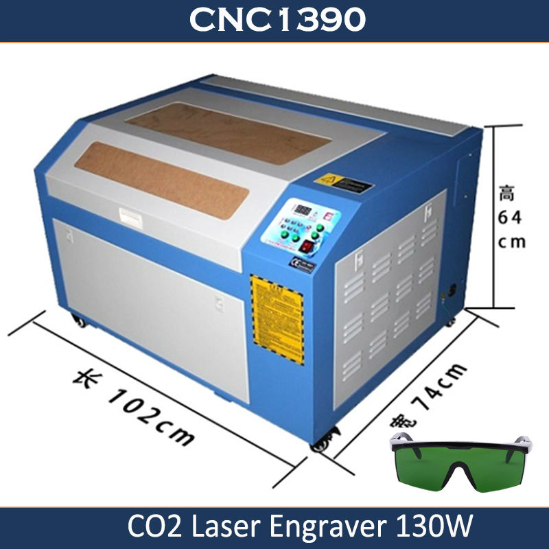 Livraison gratuite de la mer JFT Cutter bois Mini Co2 graveur Portable Cnc Laser gravure machine de découpe