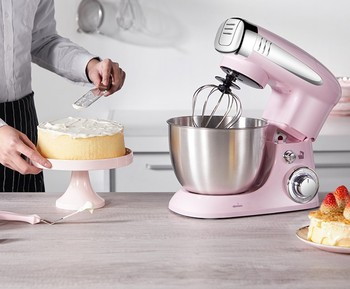 Electric mixer Food processor Dough kneading machine  1000W eggs cake kitchen stand mixer food Cooking mixing beater