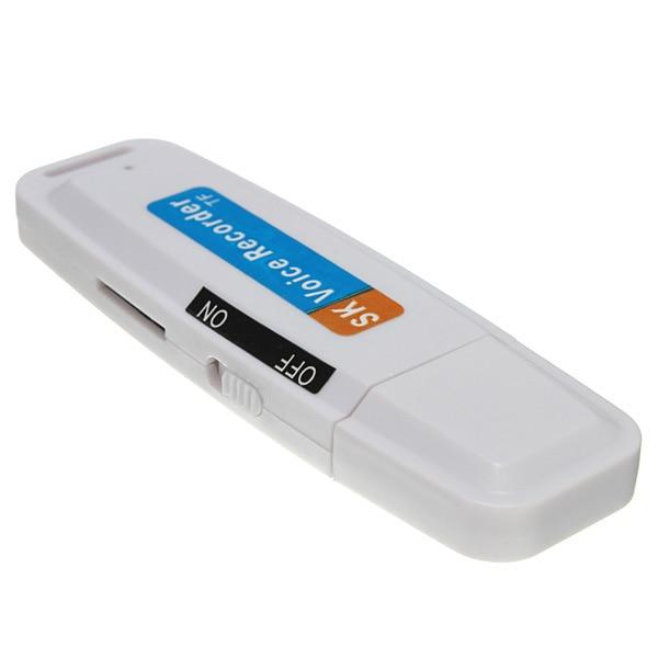 Digital SUB2.0 Audio Voice Record USB Stick Recorder Dictaphone Flash Drive U-Disk Converter USB 2.0 U Disc Disk Support TF Card