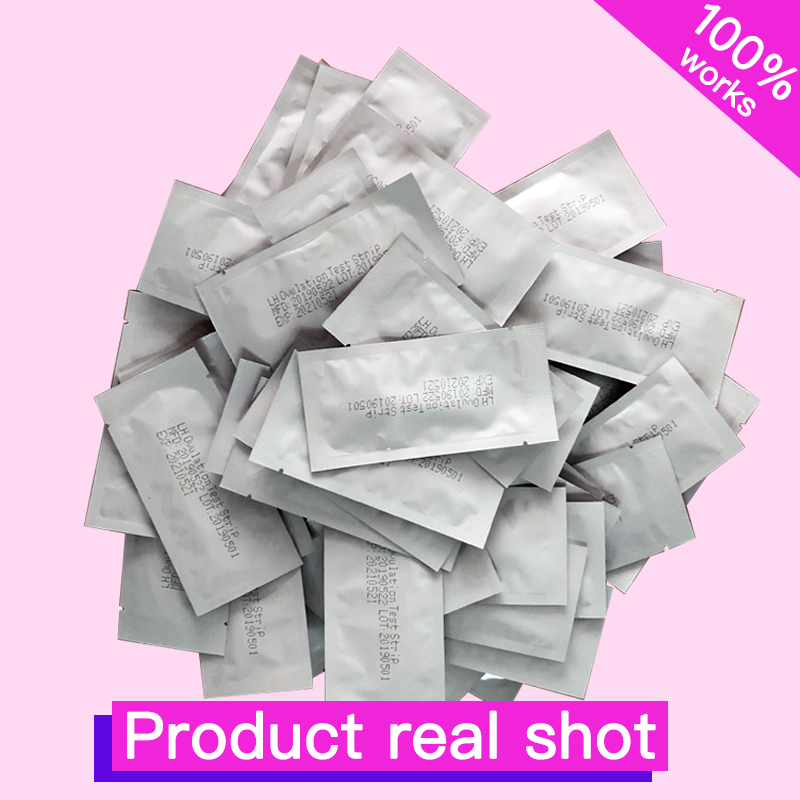 200Pcs private early LH female Ovulation test card fast test adult products Higher accuracy 99 accuracy rate free shipping
