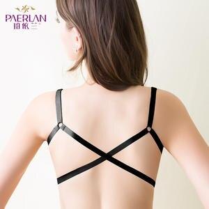 662372b7c PAERLAN Wireless front female lace bra push up lingerie