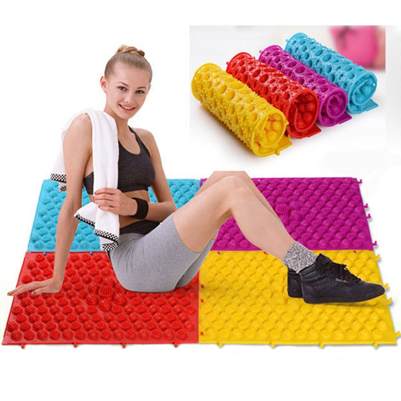 relief guides reflexology shiatsu on shopping foot find mat care acupressure quotations pain stress massager chinese product health tpe mats cheap get deals cushion medicine line at