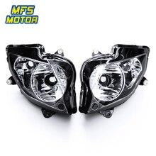 цена на For 02-12 Honda VFR800 VFR 800 Motorcycle Front Headlight ABS Head Light Lamp Headlamp Assembly 2002 2003 2004-2012