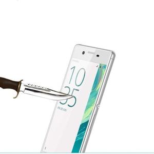 Image 5 - Pokrowiec na pełny ekran 3D szkło hartowane dla Xperia X Performance dla Sony Xperia XA folia ochronna w całości pokryta folią ochronną
