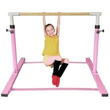 Спортивное оборудование для гимнастики с высоким баром, баланс древесины, балка для дома, турник, фитнес-оборудование, упражнения для детей