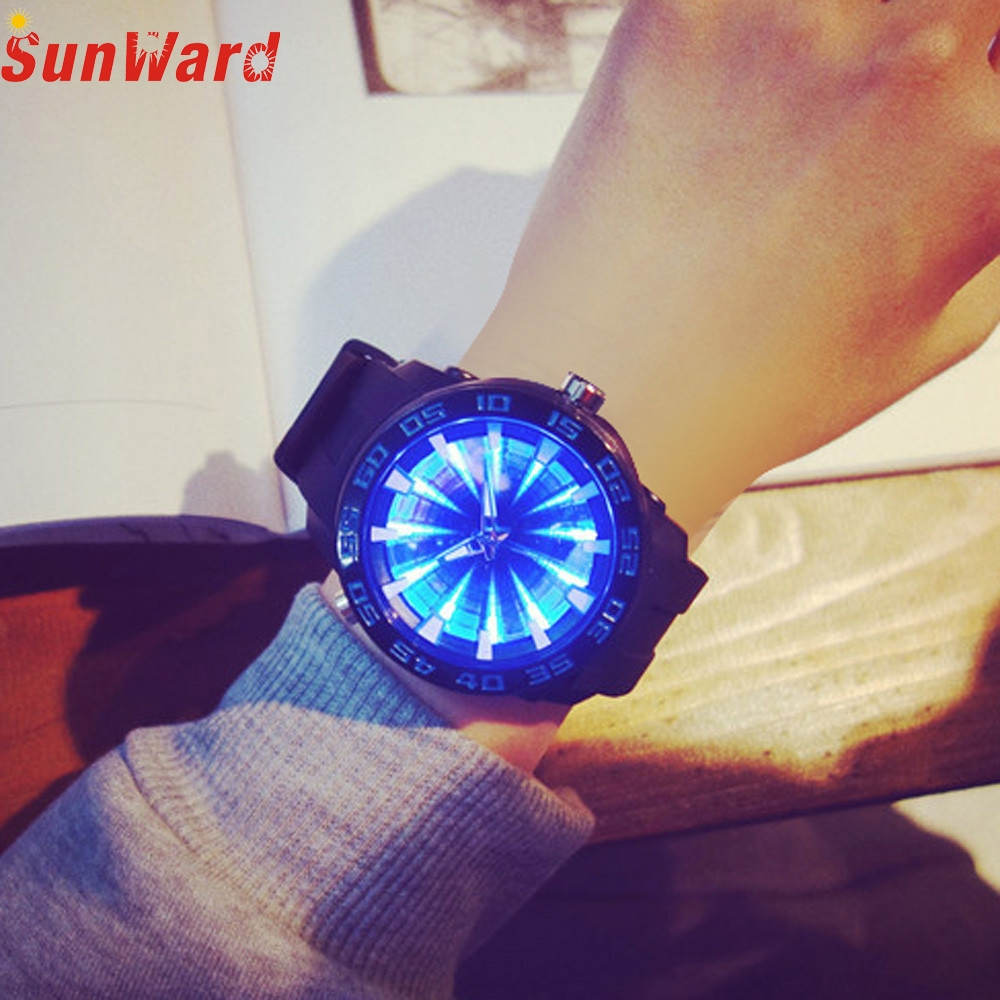 Miracle Moment 2018 Large Dial Wave Men 's Table Personality Uninhibited Women Fashion Trend Watch high quality 0122 miracle moment fashion stylelish mens womens unique hollowed out triangular dial black fashion watch ag3