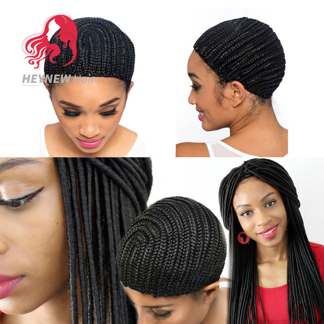 wholesale cornrow wig cap for making wigs easier sew in braided wig