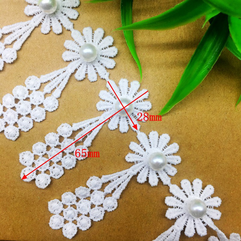 50x Mixed Ribbons Bow Flower Embellishment Applique for DIY Sewing Craft