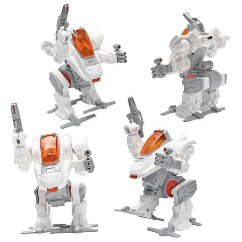 DIY Robot Kit Learning Kit For Children Kids DIY STEM Educational Science Toys Hand-up Ability Development Model Building Kits