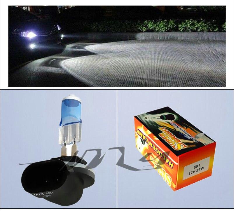 881 27 W H27 894 Super Bright Putih Fog Halogen Bulb Hight Daya 27 W - Lampu mobil - Foto 5