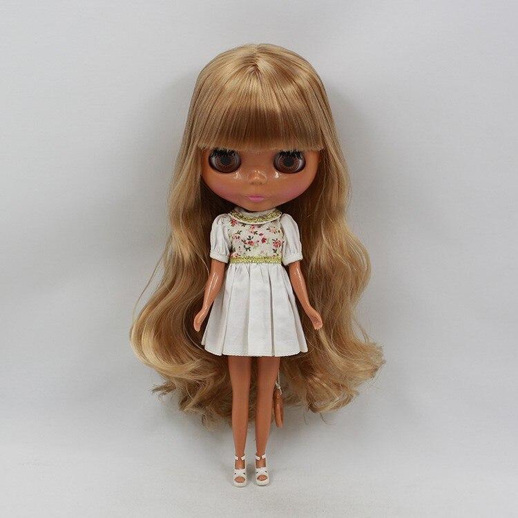 Стоимость блонд длинные вьющиеся кукла с волосами без одежды черная кукла фабрика кукла подходит для DIY Изменить игрушка BJD для девочек