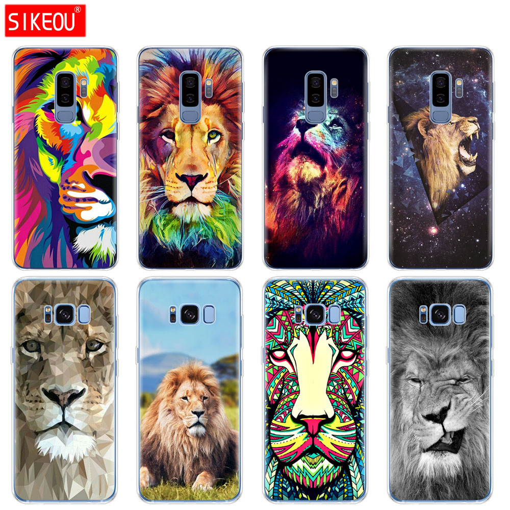 cover samsung s6 lion