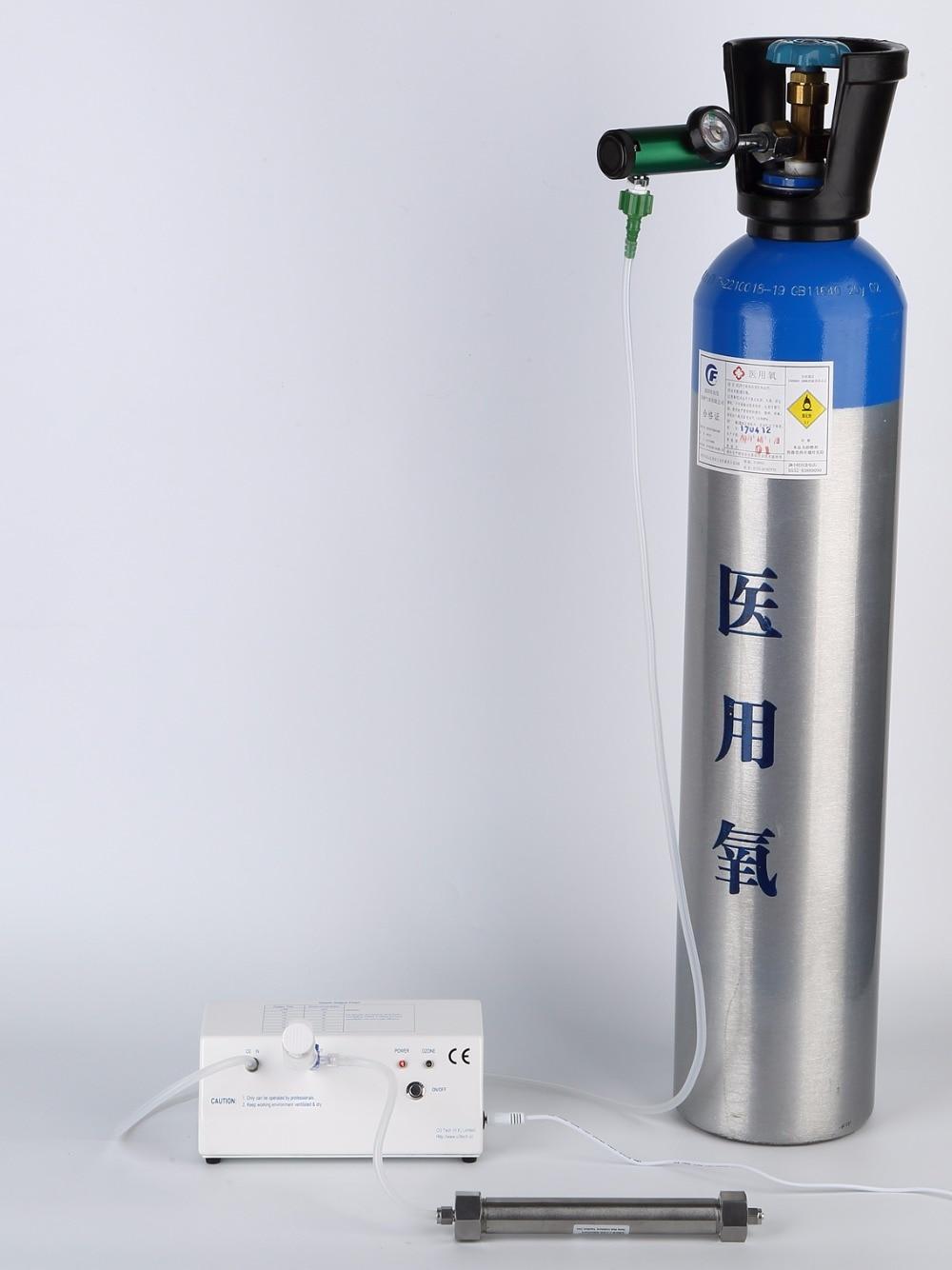 Laboratory ozone generator 12VDC with oxygen regulator oxygen regulator cga540 used on medical ozone generator