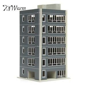 KiWarm Simple 1: 100 моделей железной дороги с поездом Современная 6 Раскрашенная история жилого калибра строительные весы серый орнамент Декор