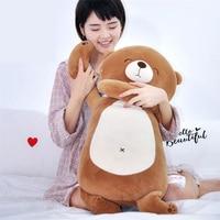 Fancytrader Cuddly Soft Animals Dog Bear Pig Bunny Pillow Doll Fluffy Stuffed Cartoon Anime Doll Gifts 70cm 28inch for Children