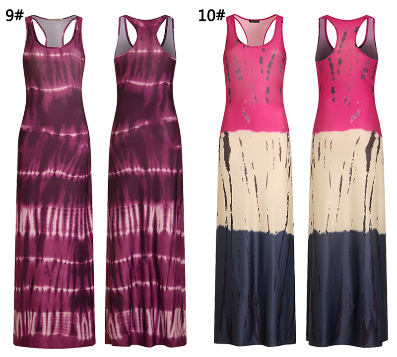 2018 Women Summer Casual Beach Maxi Dresses Boho Floor Length Elegant Bodycon Party Long Bohemian Dress Plus Size 3XL 4XL 5XL 13