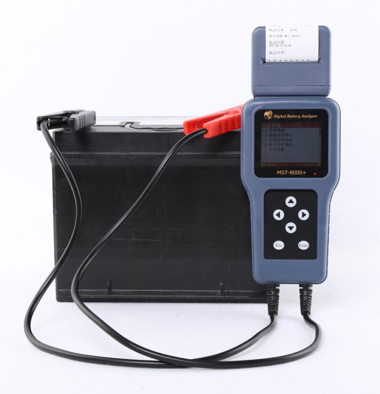 Appareil de contrôle de cellule d'acide de plomb de voiture de 12 v 24 v détecteur de batterie de plomb instrument d'essai de batterie de voiture des véhicules à moteur