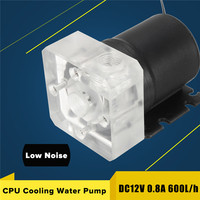 For Desktop PC Computer DC 12V G1 4 Low Noise CPU Cooling Water Pump Cool System