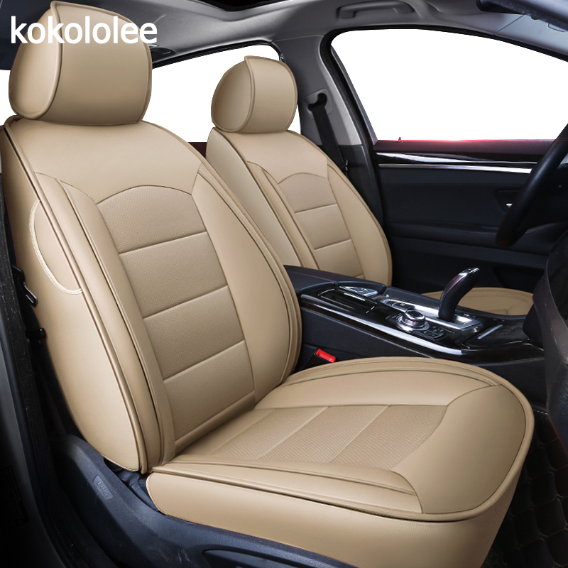 Kokololee Custom Real Leather Car Seat Cover For Audi TT R8 A1 A3 8p 8l Sportback A4 A6 A5 A7 A8 A8l Q3 Q5 Q7 Auto Accessories