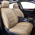 Kokololee de real cubierta de asiento de cuero de coche para audi TT R8 a1 a3 8 p 8l sportback A4 A6 A5 a7 a8 a8l Q3 Q5 Q7 auto Accesorios