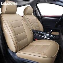 Kokololee на заказ из натуральной кожи чехол автокресла для audi TT R8 a1 a3 8 p 8l sportback A4 A6 A5 a7 a8 a8l Q3 Q5 Q7 авто аксессуары