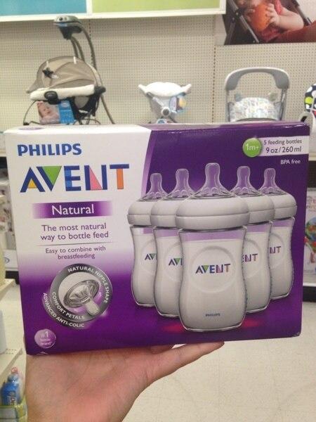 أفانت الطبيعية زجاجة تستخدم في الرضاعة أفانت زجاجات الفم واسعة 1 م +/9 أوقية 260 مللي العلامة التجارية الجديدة 5