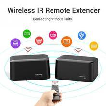New Wireless IR Remote Extender Repeater HDMI Transmitter Receiver Kit Blaster Emitter GDeals все цены