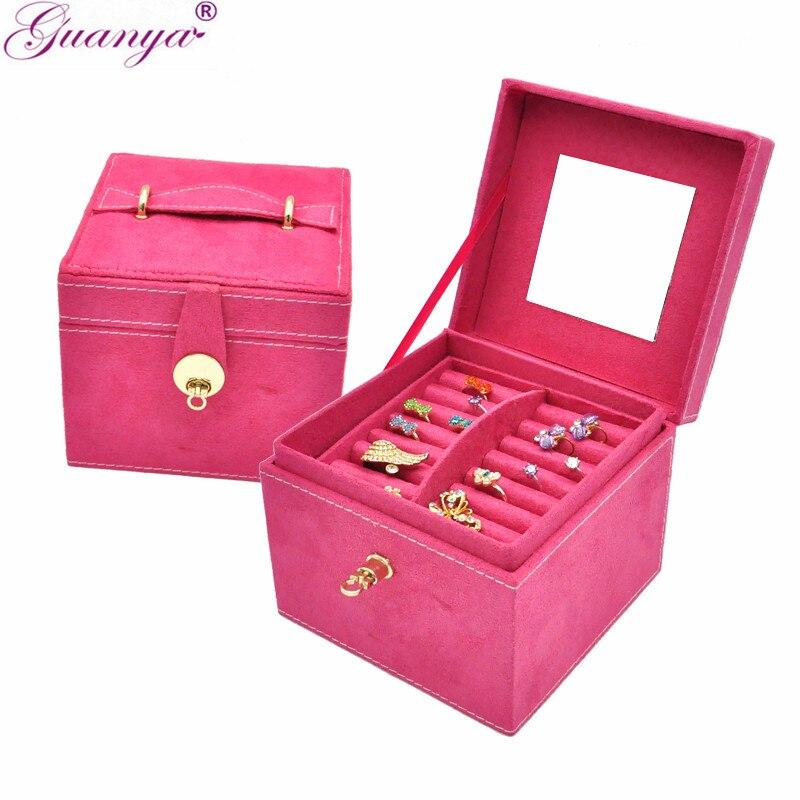 ③14*14*12 см jewelry коробки для ювелирных изделий ...