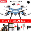 Syma X5HW (X5SW Upgrade) FPV Real-time Quadcopter Drone With WIFI 2MP HD Camera 2.4G 6Axis RC Helicopter dron Toys Pressure High