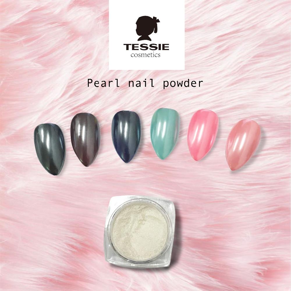 tessie shop 2grams PEARL WHITE NAIL MATTE NAil Վարդագույն - Մանիկյուր - Լուսանկար 2