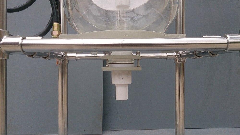 SF 10Liter Chimique Laboratoire réacteurs En Verre À Double Enveloppe de refroidissement/usine Pilote réacteur doublé de verre - 6