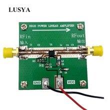 Lusya rf2126 2.4ghz banda larga rf amplificador de potência, 400m 2700mhz 1w para wifi, bluetooth, ham radio amplificador G2 004,