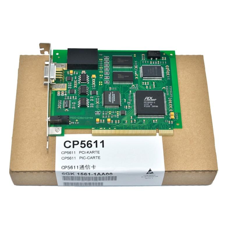 PCI Card For Siemens PLC CP5611 DP/PROFIBUS/MPI 6GK1561-1AA00 new original dvppf02 sl plc profibus dp slave communication module