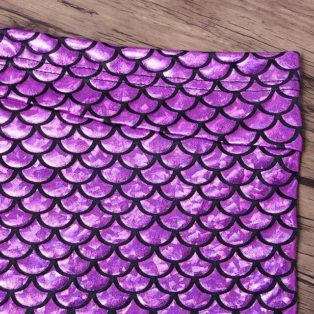 Women's Mermaid Scale Beach Wrap Skirt 6