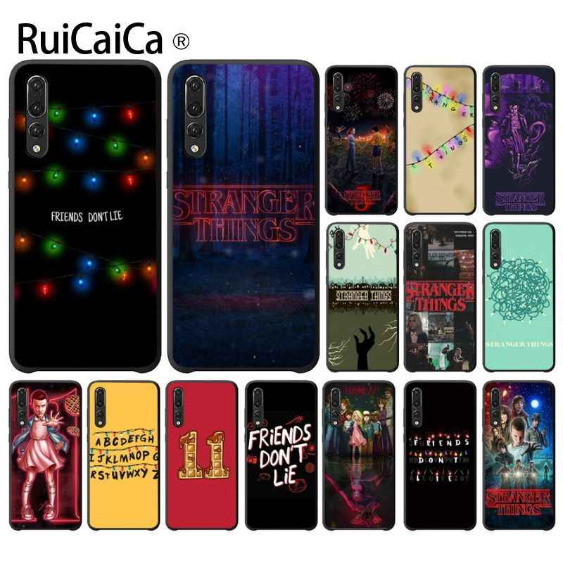 Ruicaica Stranger Things Custom Photo Soft Phone Case for Huawei Mate10 Lite P20 Pro P10 Plus Honor 9 10 Mobile Cover