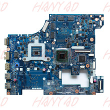 QIWG5 LA-7981P For Lenovo G580 Laptop Motherboard ddr3 Mainboard 100% tested for toshiba l450 l450d l455 laptop motherboard gl40 ddr3 k000093580 la 5822p 100% tested