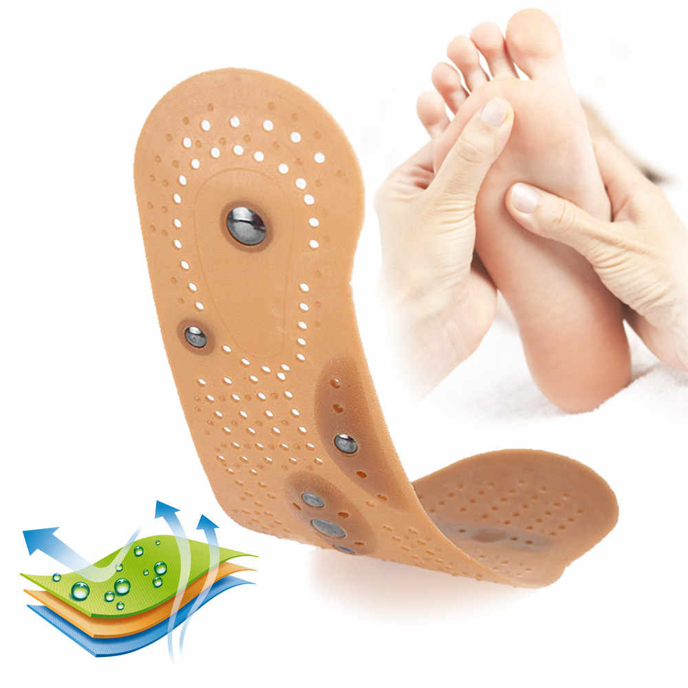 Magnetic Therapy Slimming Insoles สำหรับลดน้ำหนักนวดเท้าสุขภาพ Care รองเท้า Mat Pad การฝังเข็ม Sole foot care