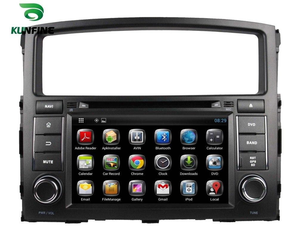 imágenes para Quad Core 1024*600 Android 5.1 Reproductor de DVD de Navegación GPS Estéreo Del Coche para PAJERO V97/V93 2006-2011 de Radio 3G Wifi