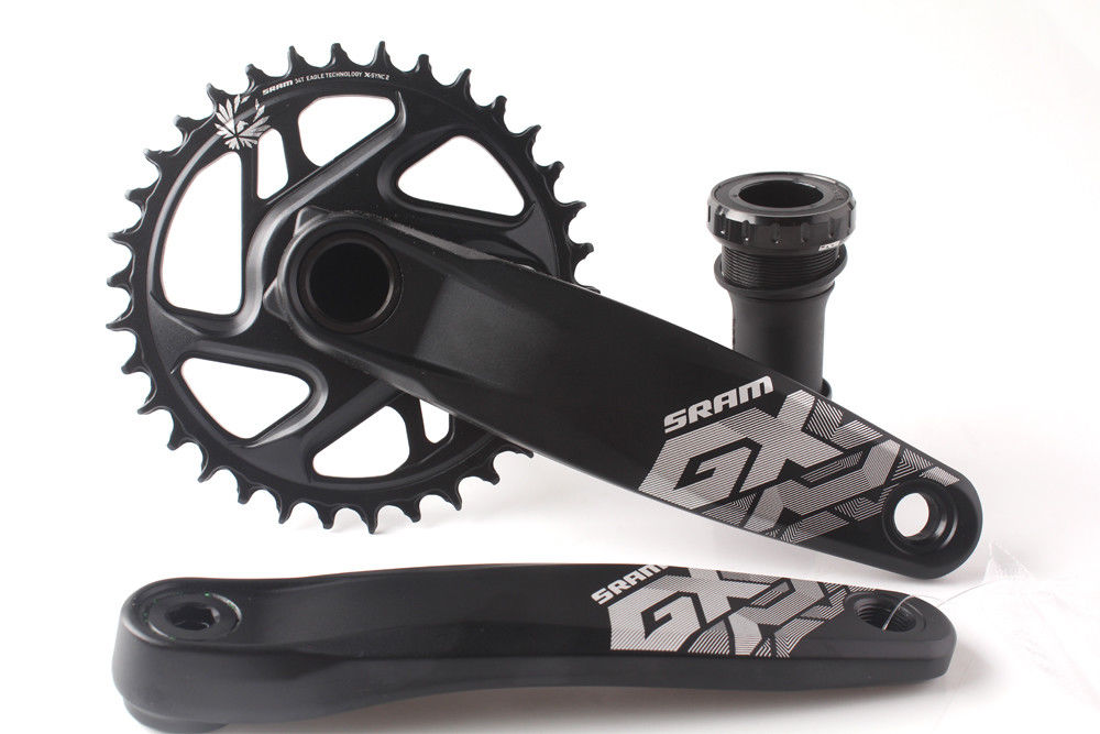 SRAM GX EAGLE 32T 34T 170mm 175mm MTB Bicycle Crankset with GXP Bottom Bracket sram xx1 x9 xo gxp bb30