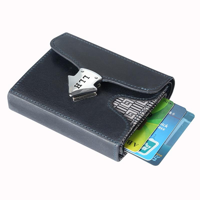 Nouveau Design homme argent sacs à main portefeuille décontracté pour hommes multi fonctionnel court portefeuille en cuir de vachette Vintage luxe homme sac à main