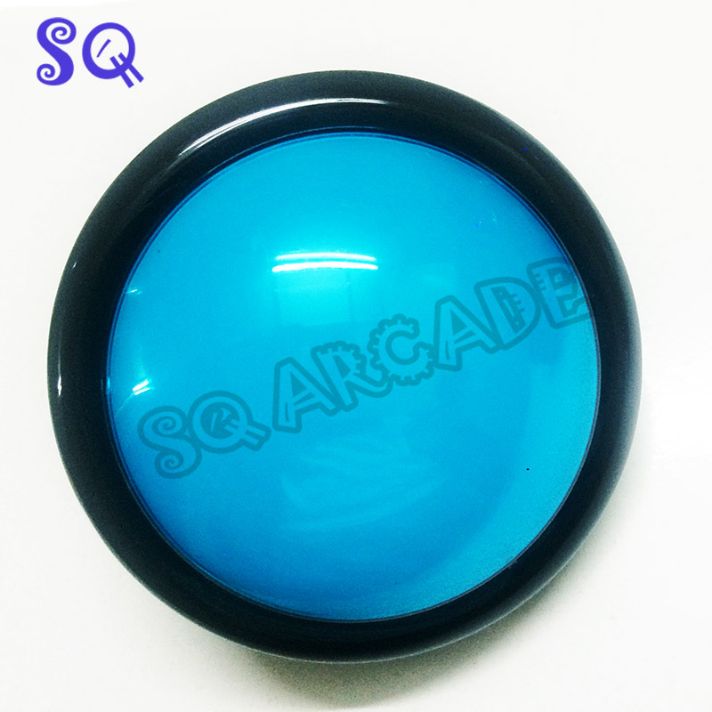 100MM LED Light Lamp Arcade push button Big Round Arcade Video Game Player Push Button microswitch