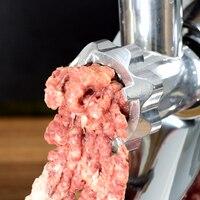 220 В Многофункциональный Электрический мясорубку коммерческих и бытовых Колбаса чайник машина Чеснок мясорубку мясо Slicer Европейский Союз/